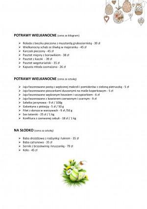 catering wielkanocny włocławek
